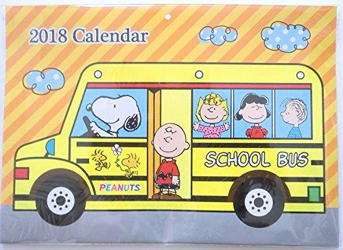 2018 Peanuts Snoopy Wall Calendar Brand New