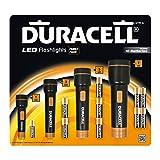 Duracell - Linterna LED (pack de 4 unidades, funcionan a pilas)
