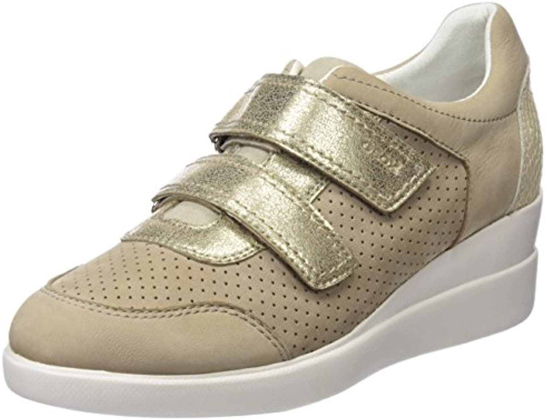 Geox D Stardust C, C, Stardust Sneakers Basses FemmeB0767NPHNCParent ff3eb0