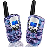 Topsung Walkie Talkies for Girls Two way Radio 8 Channel 3 KM Long