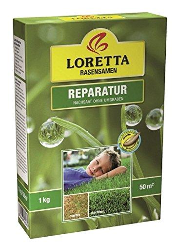 Loretta Reparatur Rasensamen 1 kg reicht für ca. 50 m²