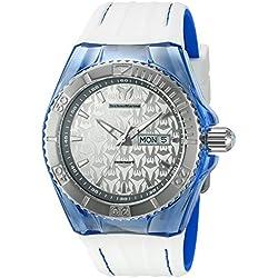 TechnoMarine TM-115154 - Reloj de cuarzo para hombres, color blanco