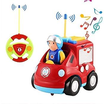Rc Télécommandée Camion 2 De Pompier Jouets Voiture Canaux Ocday f6vIYmb7yg