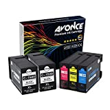 Avonce 5 Pack Tintenpatronen für Canon pgi-1500XL pgi-1500 XL pgi1500 XL pgi1500 1500XL für Canon Maxify MB2350 MB2050 MB2150 MB2755 MB2155 MB2750 Multifunktionsdrucker