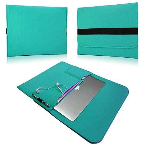 NAUC Laptoptasche Sleeve Schutztasche Hülle für Tablets Macbook Netbook Ultrabook Laptop Case in verschiedenen Farben kompatibel mit z.B. Samsung Apple Asus Medion Lenovo uvm., Für Notebook:Sony Vaio 13.3, Farben:Mint