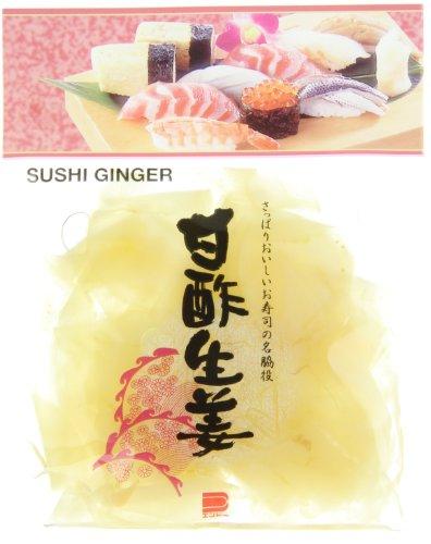 Endo Ingwer, eingelegt, weiss (Gari Shoga), 10er Pack (10 x 110 g Packung)