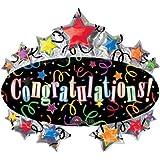 Amscan International Super Shape Congratulation Marquee