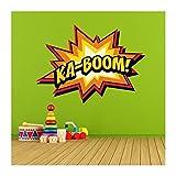Stickers adhésif mural comics kaboom - 56x40cm