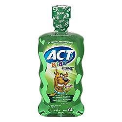 ACT Kids Scooby-Doo Kiwi Watermelon Fluoride Rinse, 16.9 oz