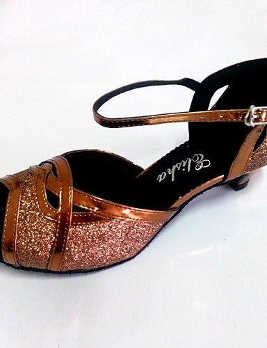 La mode moderne Sandales sandales de femmes d'Amérique latine sur mesure Talon Chaussures de danse sur mesure US11.5/EU43/UK9.5/CN45