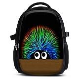 MySleeveDesign Mochila escolar para niños y niñas con compartimentos práctica para portátiles - Espalda y compartimentos acolchados, cómoda de llevar - con mucho espacio - Creature