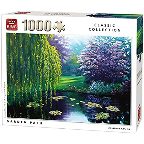 King Garden Path Jigsaw Puzzle (1000