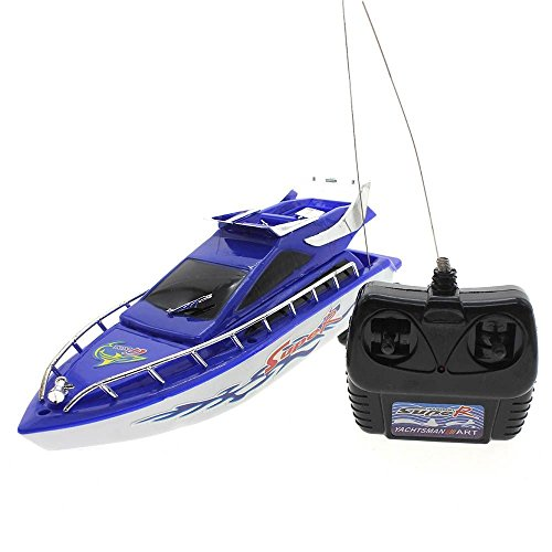 VANKER Barco teledirigido Juguetes eléctricos Modelo del velero del juego los niños de plástico Mini