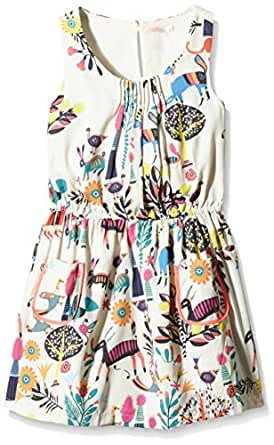 Billieblush robe fille vestito bambina multicolore unique for Amazon abbigliamento bambina