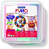 Staedtler FIMO soft Pack de 26 Pâte à modeler 57 g Assortis