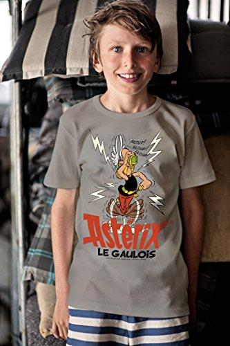 logoshirt-jungen-hemd-asterix-le-gaulois-grau-140-cm