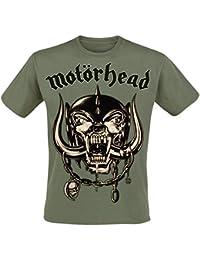 Motörhead Army Green Warpig T-Shirt olive L