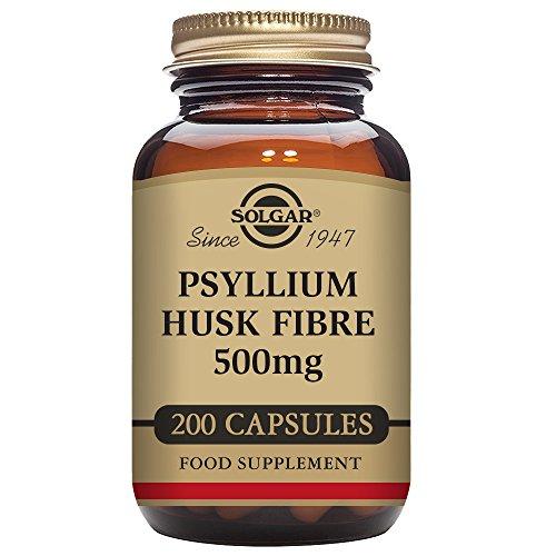 Solgar Fibra Cáscaras Psyllium - 200 Cápsulas