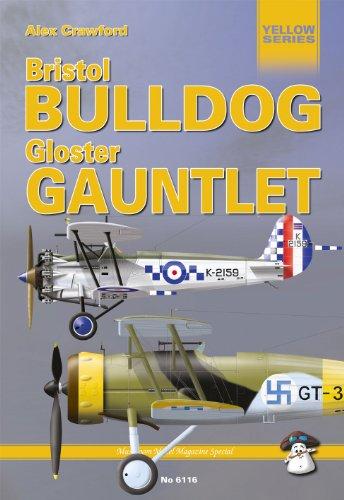 Bristol Bulldog and Gloster Gauntlet (Yellow Series) por Alex Crawford