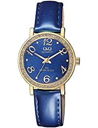 4fb633738b4e Q Q QZ15J115Y Analogue Watch Stylish Number and Beautiful Color Watch with  Blue Dial with Blue Strap