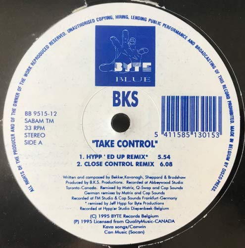 Bks - Take Control / I'm In Love With You
