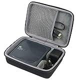 co2CREA Voyage Stockage Porter Étui Housse pour WD My Passport Wireless Pro Disque Dur Externe Portable 1 to /2 to /3 to /4 to(Travel Case)