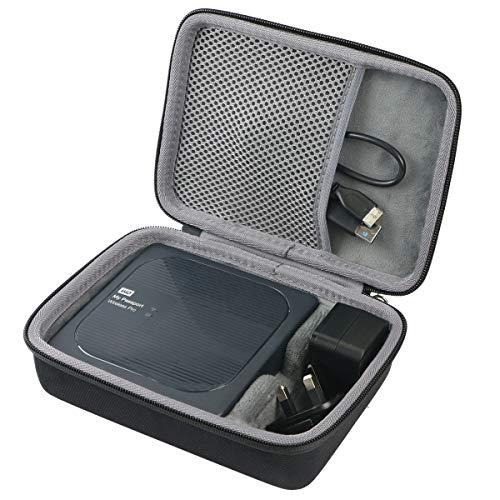 co2CREA Duro Viaggio Custodia Copertina per WD 1 TB /2 TB /3 TB /4 TB My Passport Wireless PRO, Hard Disk Esterno Portatile