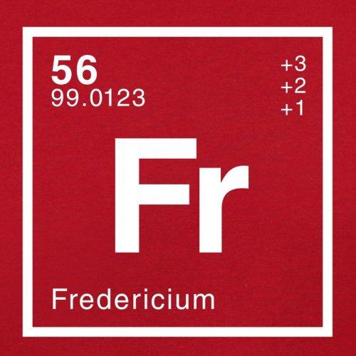 Frederic Periodensystem - Herren T-Shirt - 13 Farben Rot