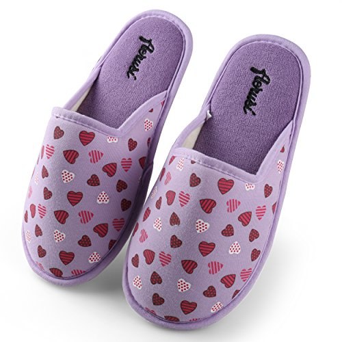 Aerusi  Slippers, Chaussons pour femme Violet