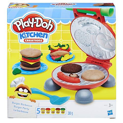 51deJd5lT9L. SS500  - Play-Doh Burger Barbecue Set