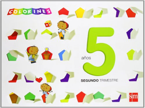 Colorines. 5 años, 2 trimestre - 9788467560800