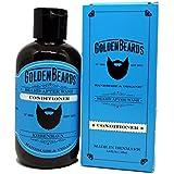 Acondicionador de barba Orgánico (100ml) – Golden beards- Hidrata tu barba y piel, Combina con nuestro jabón y obtendrás unos resultados excelentes. Un acondicionador perfecto para obtener una barba perfecta, Nuestros productos son 100% Veganos & Naturales y NO TESTEADOS con ANIMALES – El mejor Acondicionador para tu barba - Acondiciona tu Barba como se merece 100% garantizado