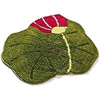 Kreative Lotusblatt Teppichunterlage Innen und Außen Eingang Fußmatte, Weich Komfortabel Shaggy Rutschfester Saugfähig... preisvergleich bei billige-tabletten.eu
