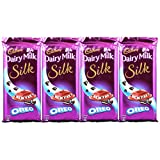 #9: Cadbury Dairy Milk Silk Oreo, 130g (Pack Of 4)