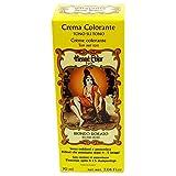 SITARAMA Tinte Vegetal Crema con Henna - Blondo Dorado - Sin peróxido ni amoniaco - Sin colorantes sintéticos - Vegan