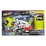 Nerf Nitro - Nitro Aerofury Ramp Rage Hypershot, color oro, naranja, blanco (Hasbro E0408EU4)
