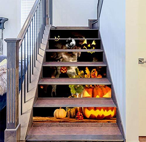 DFGTHRTHRT 3D Simulation Treppenaufkleber entfernbare Wasserdichte Wandaufkleber Schlafzimmer Wohnzimmer DIY Tapete Wandabziehbilder (Color : WLT001StairsStickers, Size : OneSize)