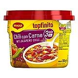Maggi Topfinito Chili con Carne: mit Jalapeño Chili (leckeres Fertiggericht, mit Hackfleisch und Kidneybohnen, in würziger Soße) 1er Pack (1 x 380g)