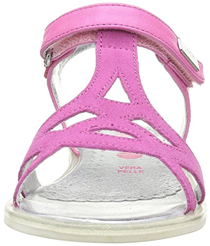 ASSO 40740, Sandales fille Rose (Fuxia)