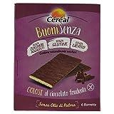 [BuoniSenza] BARRETTE AL CIOCCOLATO FONDENTE CEREAL - GOLOSI SENZA Glutine, SENZA Lievito, Ricetta SENZA Latte - Confezione 6 snack