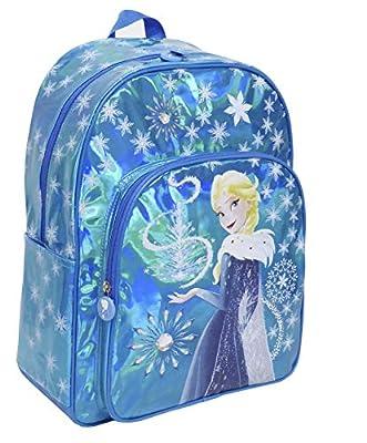 Toy Bags Mochila Infantil Frozen Elsa Brillante/Mochila Disney Brillante Mochila Elsa Frozen, Azul de Frozen