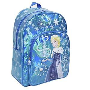 51deONlNIyL. SS300  - Toy Bags Mochila Infantil Frozen Elsa Brillante/Mochila Disney Brillante Mochila Elsa Frozen, Azul