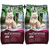 Meat Up Adult Cat Food , Ocean Fish  - 3 kg Pack ( BUY 1 GET 1 FREE)