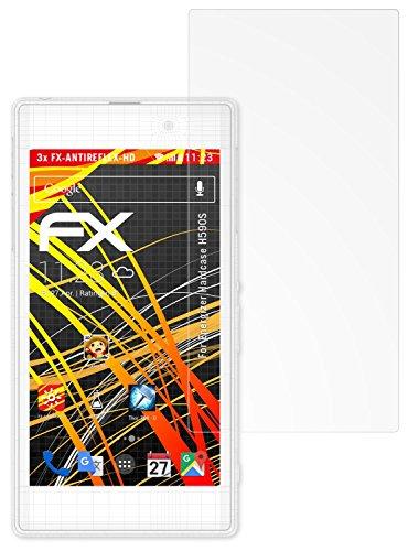 atFolix Schutzfolie kompatibel mit Energizer Hardcase H590S Displayschutzfolie, HD-Entspiegelung FX Folie (3X)