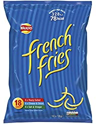 Walkers French Fries Variety Snacks 18 x 18 g