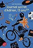Journal Secret D'adrien 13 Ans 3 - 4 sue townsend