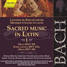 Bach: Sacred Music in Latin 1 - Masses BWV 233, 234; Kyrie BWV 233a (Edition Bachakademie Vol 71) /Rilling