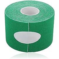 cosanter 5m * 5cm Kinesiologie Elastisches Tape Seil für Physiotherapie/Sport Verletzungen Unterstützung grün preisvergleich bei billige-tabletten.eu