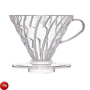 Filtro per caffè trasparente