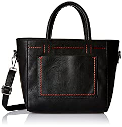 Ladida Ladida Collection Womens Satchel (Black) (2017-44 BLACK)